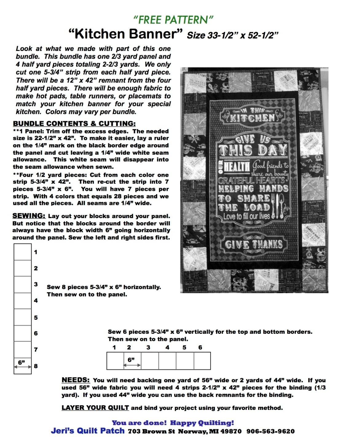 Kitchen Banner Free copy